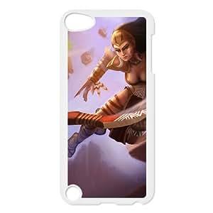 iPod Touch 5 Case White League of Legends Huntress Sivir HF1522506