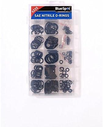 Juego de juntas t/óricas de nitrilo Blue Spot 40520 SAE 225 unidades negras