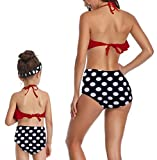 ICOOLTECH Baby Girls Bikini Swimsuit Set Family