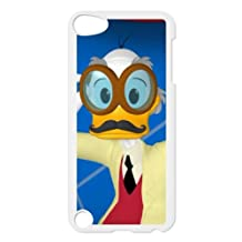 iPod Touch 5 Case White Disney An Adventure In Color Character Ludwig Von Drake 003 YE3433780