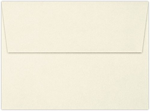 - A6 Invitation Envelopes (4 3/4 x 6 1/2) - Classic Linen Baronial Ivory (50 Qty.) | Perfect for Invitations, Announcements, Sending Cards, 4x6 Photos | 4875-70BILI-50
