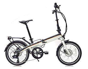 """Monty EF39 - Bicicleta eléctrica, color negro/verde/plateado, 12""""/"""