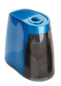 Dahle - Sacapuntas eléctrico (lápices hasta 8 mm, funciona a pilas), color azul