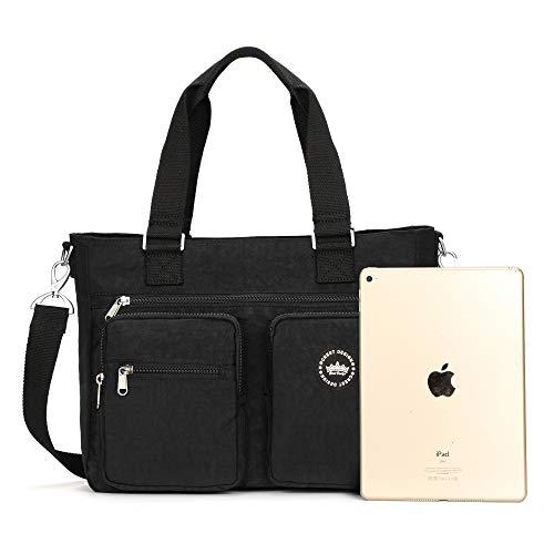 dd09740fbf1e Jual Crest Design Water Repellent Nylon Shoulder Bag Handbag