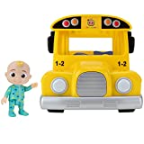 CoComelon Official Musical Yellow School Bus, Plays