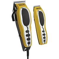 Wahl 79520-3101 Negro, Plata, Amarillo cortadora de pelo y maquinilla - Afeitadora (Negro, Plata, Amarillo, 2.5 cm, 1.5 mm)
