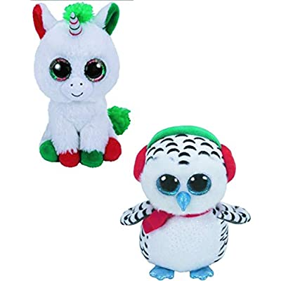 TY Nester & Candy Cane - 2 pc Christmas Set: Toys & Games
