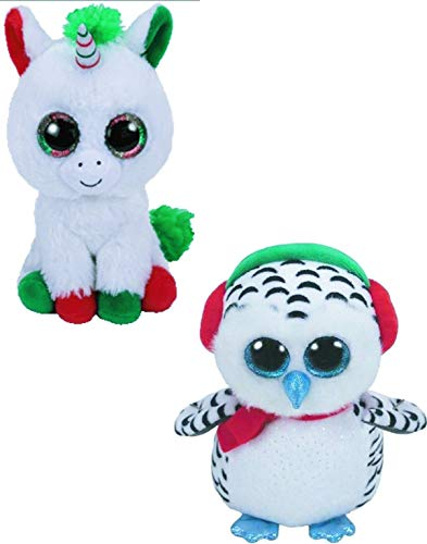 TY Nester & Candy Cane - 2 pc Christmas Set ()
