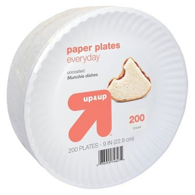 Everyday Paper Plates 9'' 200ct - up & up153;