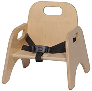 """Toddler Chair with Strap Seat Height: 5"""""""