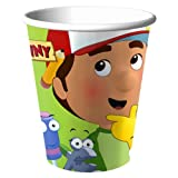 Handy Manny Party Supplies 9oz Goblets Party Cups - 8 Each