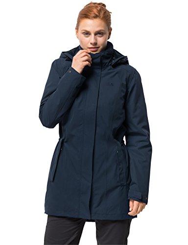 Jack Wolfskin Women's Madison Avenue Coat, Midnight Blue, Medium -