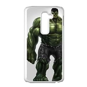 Hulk LG G2 Cell Phone Case White JR5193676