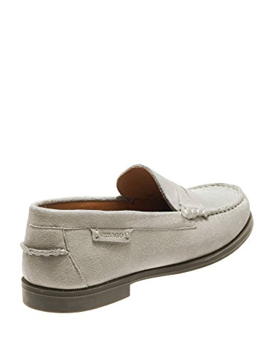 Plaza II Women's Suede Grey Loafers Sebago 4w5qOZq