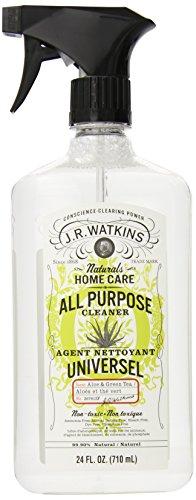 J.R. Watkins Natural limpiador todo propósito, Aloe y té verde, 24 onzas (paquete de 6)