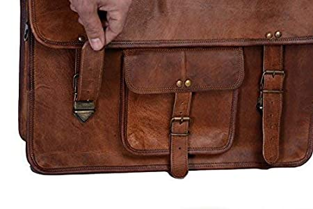 Maletín vintage de piel PL 16 pulgadas /para portátiles de hasta 15,6 pulgadas portátil.: Amazon.es: Electrónica