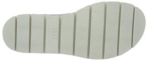 SHOOT Shoot Shoes Sh-164446dd Damen Sommer Leder Sandale Chunky - Sandalias Mujer Gris - Grau (Perla)