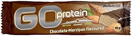 BioTechUSA GO Protein Bar, Schoko-Marzipan - 24 x 40 g
