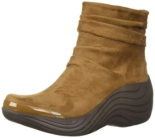 BZees Women's Zizzle Ankle Boot, Toffee Microfiber, 9 M US from BZees