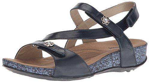 Romika Women's Fidschi 54 Flat Sandal Denim