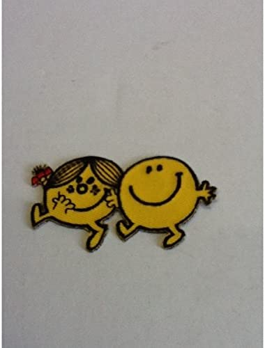 小型刺繍ワッペン(BM) (ミスターメン)アイロンワッペン 刺繍、エンブレム、大人気、オシャレ