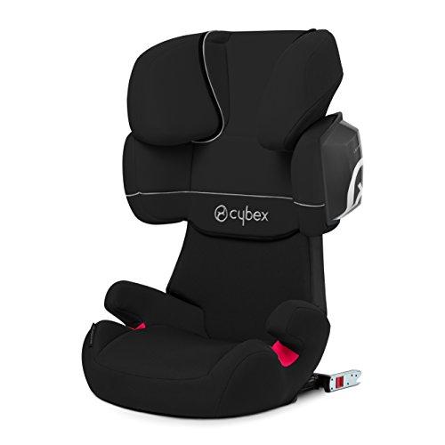 CYBEX SILVER Solution X2-fix Autositz Gruppe 2/3 (15-36 kg), Kollektion 2016, Pure Black