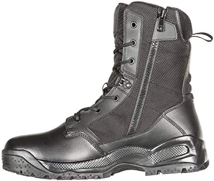 """5.11 Men's ATAC 2.0 8"""" Tactical Storm Military Boot, Style 12392, Black"""