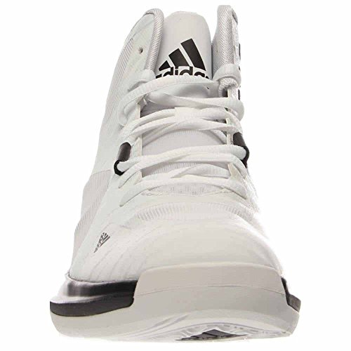 Adidas Performance Menns Gal Streik Basketball Sko Kjerne Hvit / Svart