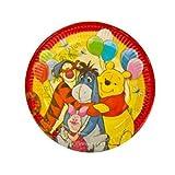 Disney Winnie The Pooh Plates Set (23cm) 8pcs