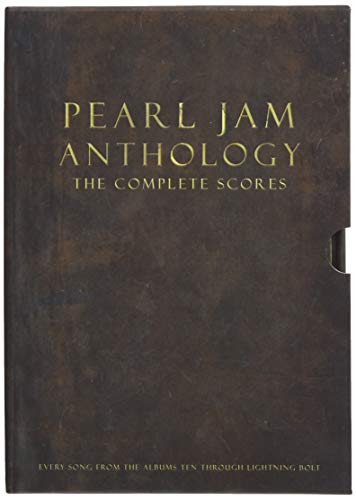 Pearl Jam Anthology - The Complete Scores: Deluxe Box -