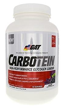 GAT Carbotein Supplement, Grape, 3.85 Pound