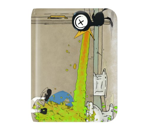 MusicSkins The Drinky Crow Show - Puke Skin for Western Digital WD My Passport Essential / Essential - Western Skins
