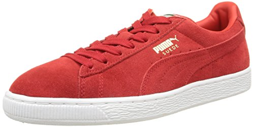 Puma Classic, Sneaker Uomo Rosso (Rouge (High Risk Red/White))