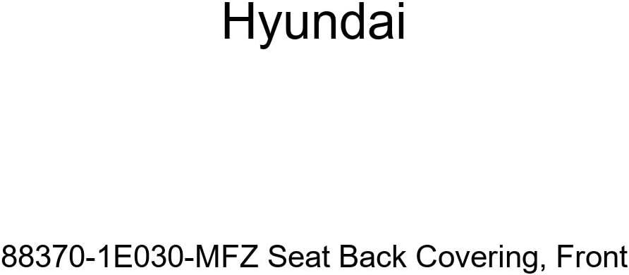 Genuine Hyundai 88370-1E030-MFZ Seat Back Covering Front