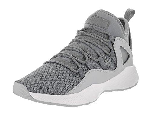 Jordan Nike Kids Formula 23 BG Cool Grey/Cool Grey/White Basketball Shoe 4.5 Kids - For Jordans Cool Kids