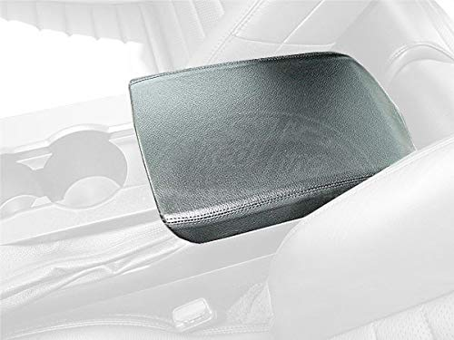 - RedlineGoods armrest Cover Compatible with Ford Mustang 2005-09. Black Leather-Black Thread