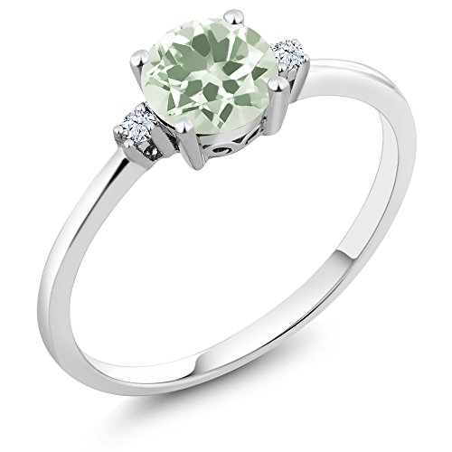 Green Amethyst Wedding Set - 5