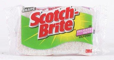 Scotch-Brite Delicate Care 3M Scrub Sponge 1 pk (Pack of 12)