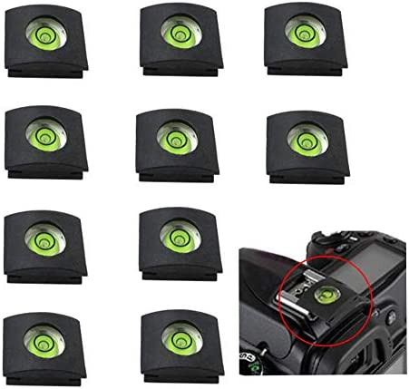 10x Hot Shoe Cover and Spirit Level Hot Shoe Mount Protectors for DSLR Camera