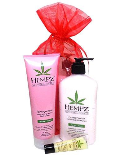 Hempz POMEGRANATE BATH & BODY GIFT SET - 3 pc.