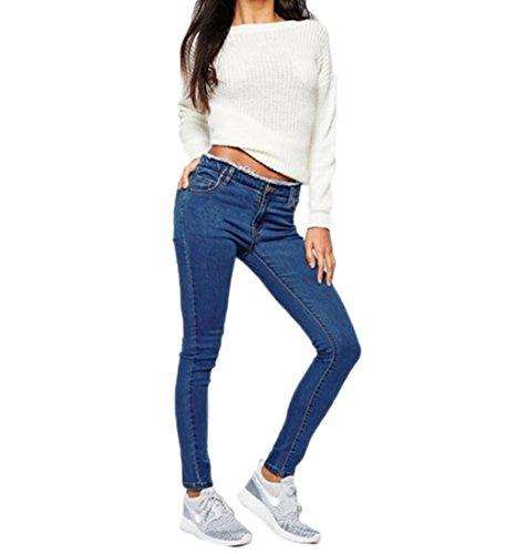 Vaqueros Follo Skinny mujer Liso para Clothing v55wxrqBZ