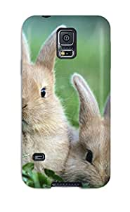 TgOObrL3253hdiyT Tpu Case Skin Protector For Galaxy S5 Rabbit With Nice Appearance
