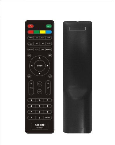 New VIORE RC2012V Remote Control for LED19VH50 LED19VH50M LED22VH50 LED22VF50 LED26VF50 TV remote---USA quick shipping (Viore Remote compare prices)