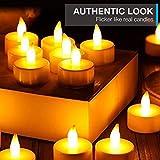 LED Candles, Lasts 2X Longer, Realistic Tea Light