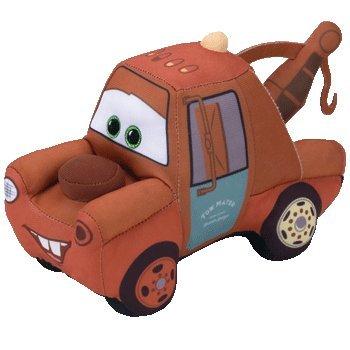 Cars Mater Plush (TY Beanie Boos Regular Plush By ADD & SHIP (Mater - Cars 3))