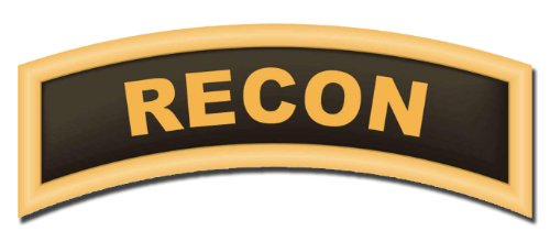 Recon Tab Decal Sticker 3.8