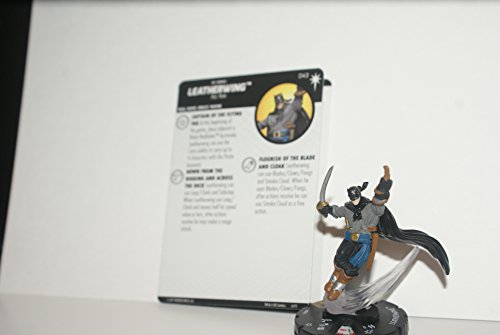 DC HEROCLIX 15TH ANNIVERSARY ELSEWORLDS LEATHERWING 043 SUPER RARE