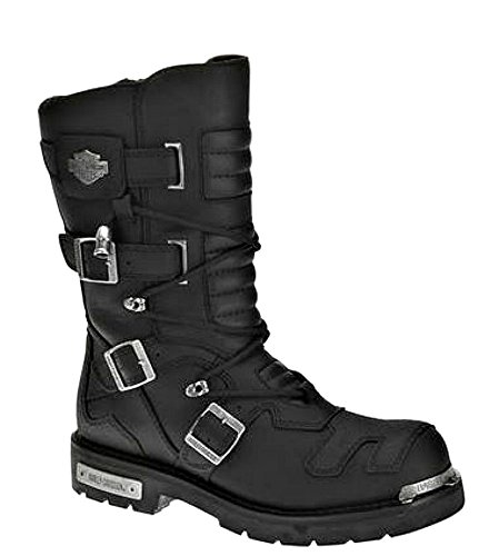 Leather Boots Mens Motorcycle - 6