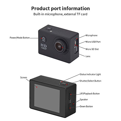30M-Waterproof-Sport-DV-Mini-Sports-1080P-HD-Action-Camera-A9-120Wide-angle-Lens-for-Free-Accessories-Kit-and-Waterproof-Case