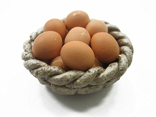 Wonder Miniature Dollhouse Miniature Food Fresh Eggs for sale  Delivered anywhere in USA